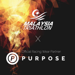 PURPOSE Performance Wear Enters An Official Partnership With Malaysia Triathlon