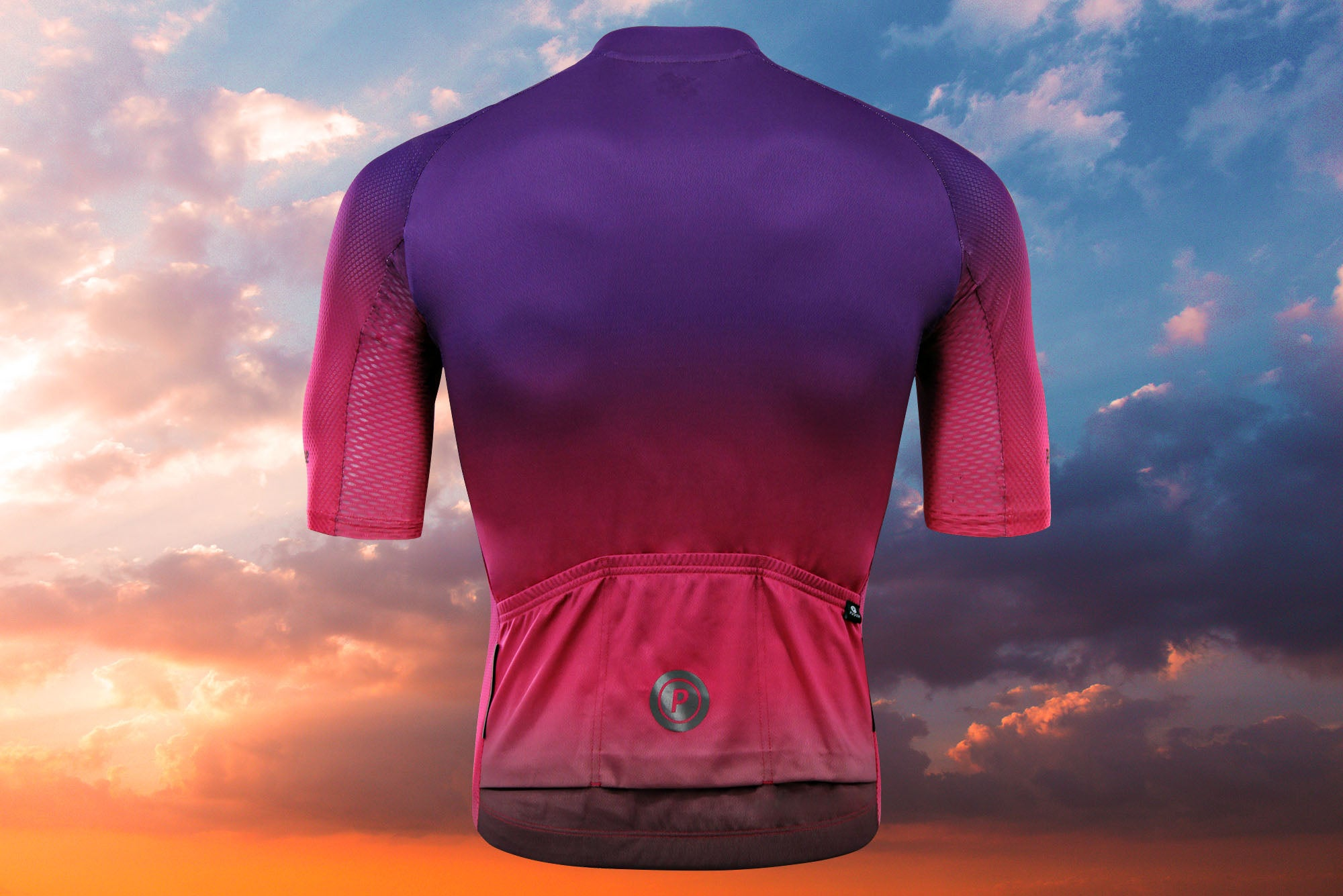 Purpose Ambition Sunset Elite Lightweight Cycling Jersey