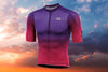ELITE Ambition Lightweight Cycling Jersey (Sunset)