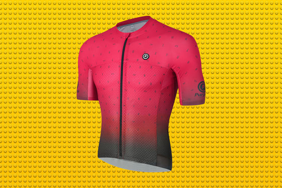 ELITE Racing Tri-Mesh   Cycling Jersey (BLOOD MOON)