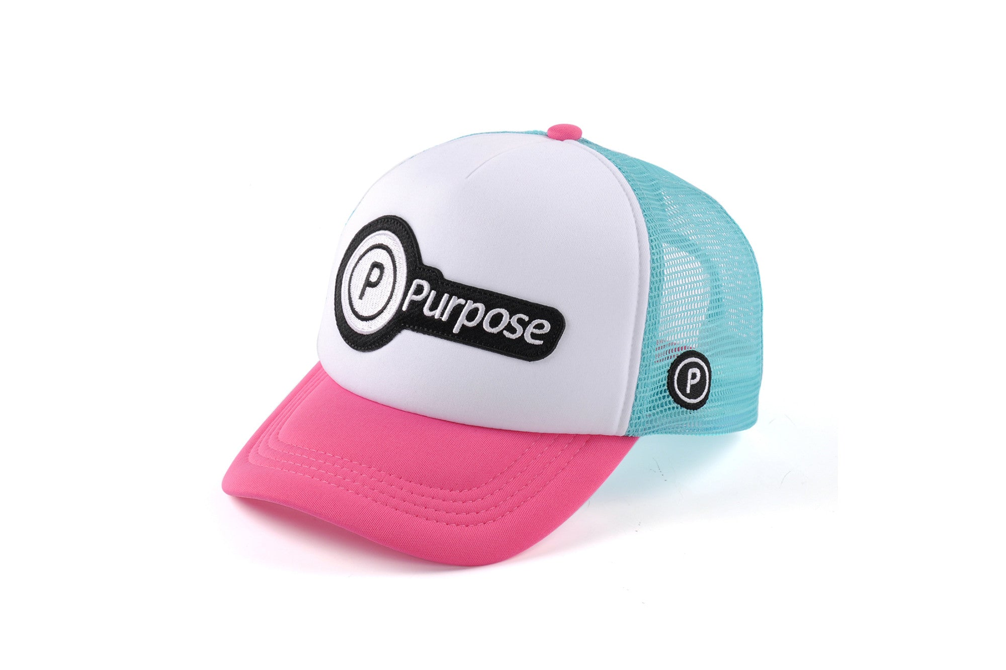 Purpose Running Trucker Cap (Pink)