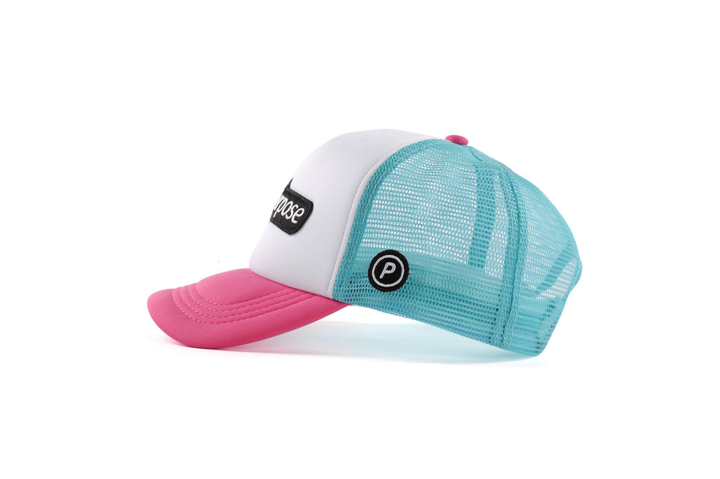 Purpose Technical Trucker Cap (Pink)