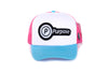 Running Trucker Cap (Blue)