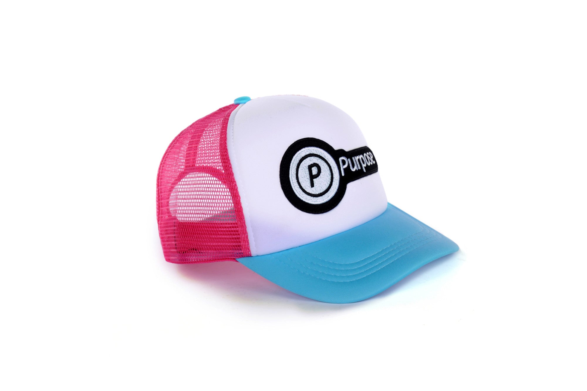 Purpose Running Trucker Cap (Blue)