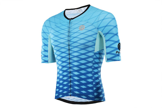 PRO SERIES  Ultra-Light Skinsuit Jersey (Aero Blue)