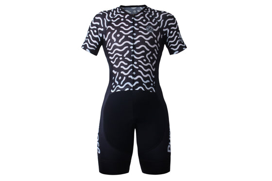 PRO Performance Mesh Tri Suit (Waves)