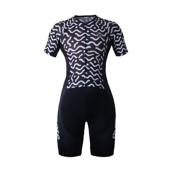 PRO Performance Women's Mesh Tri Suit (Waves)