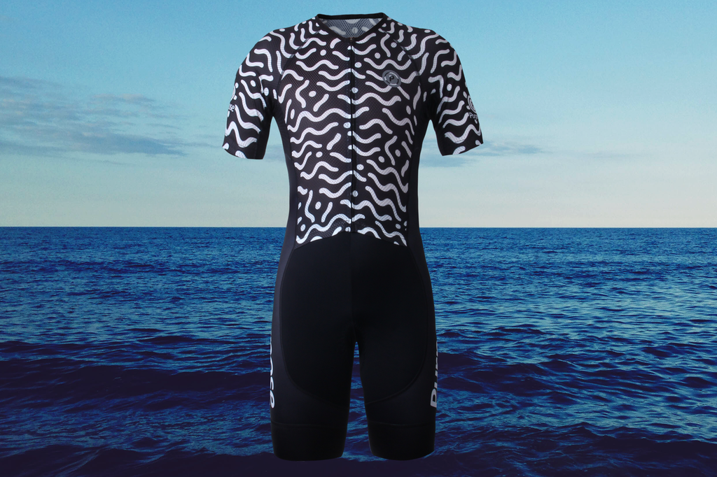 Purpose Flow Pro Performance Mesh Tri Suit (Waves)