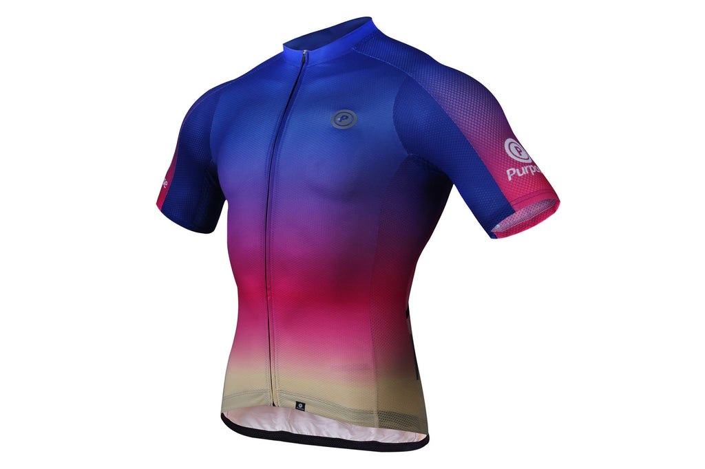 Purpose Ambition Cycling Jersey (Rainbow)