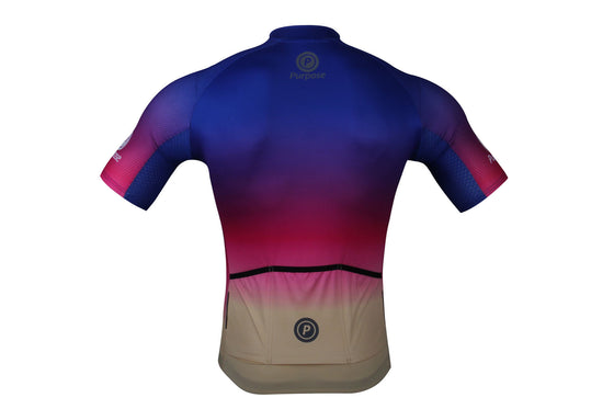 ELITE Ambition Lightweight Cycling Jersey (Rainbow)