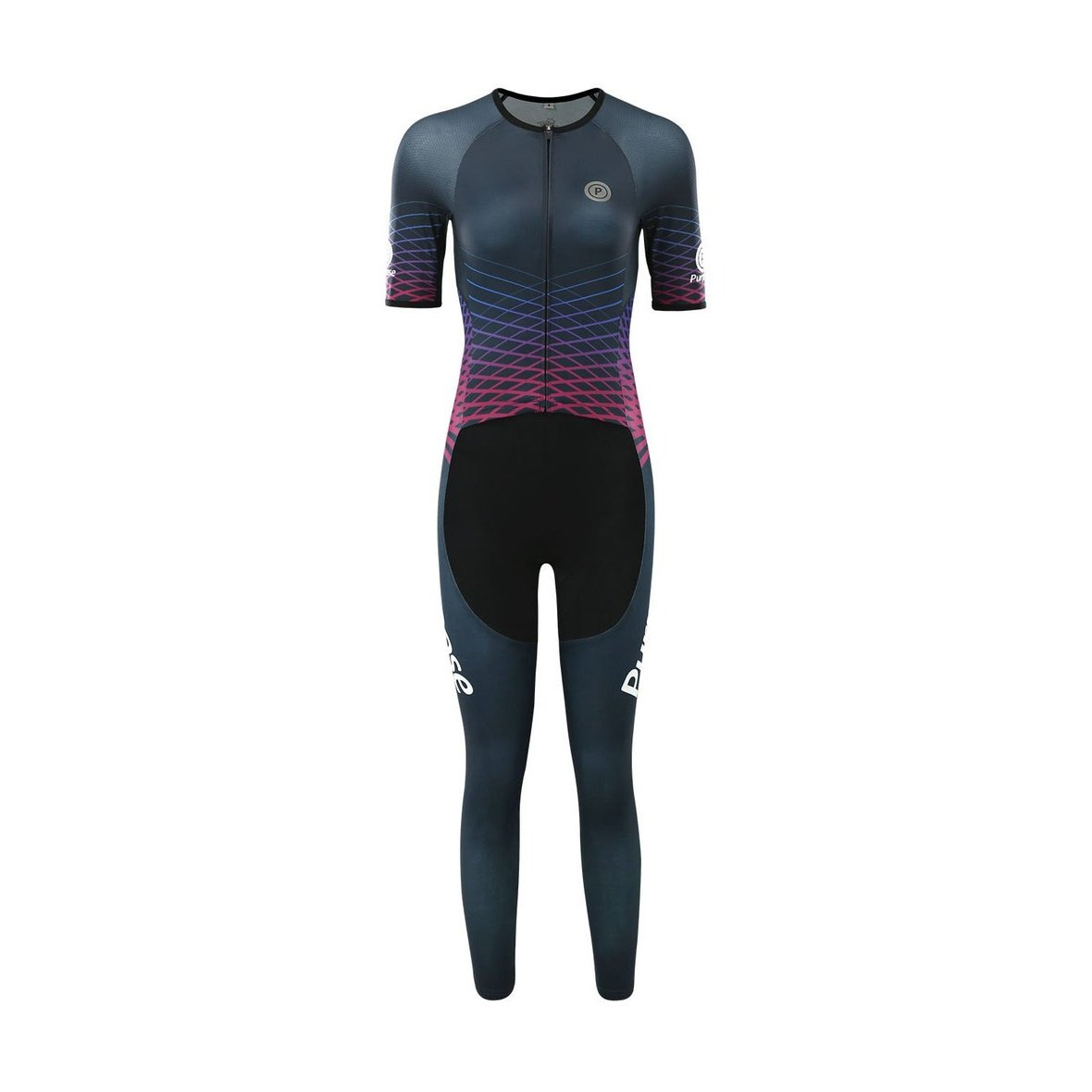 Purpose Victory Series ELITE Racing Long Tri Suit for Muslimah (Ascension)