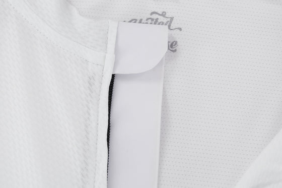 ELITE Racing Cycling Jersey (EndureIQ Edition White)