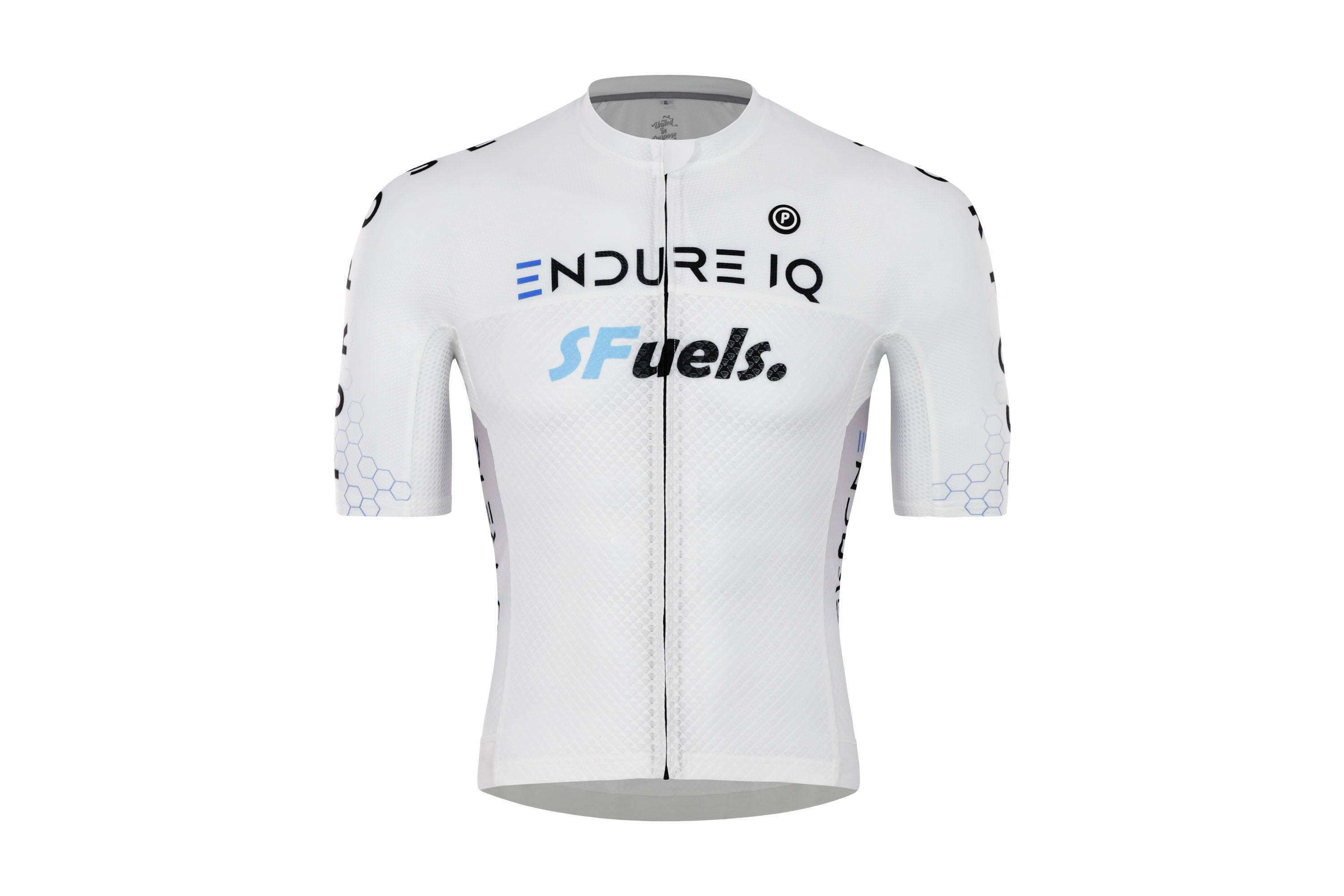 Purpose Victory ELITE Racing Cycling Jersey (EndureIQ Edition White)