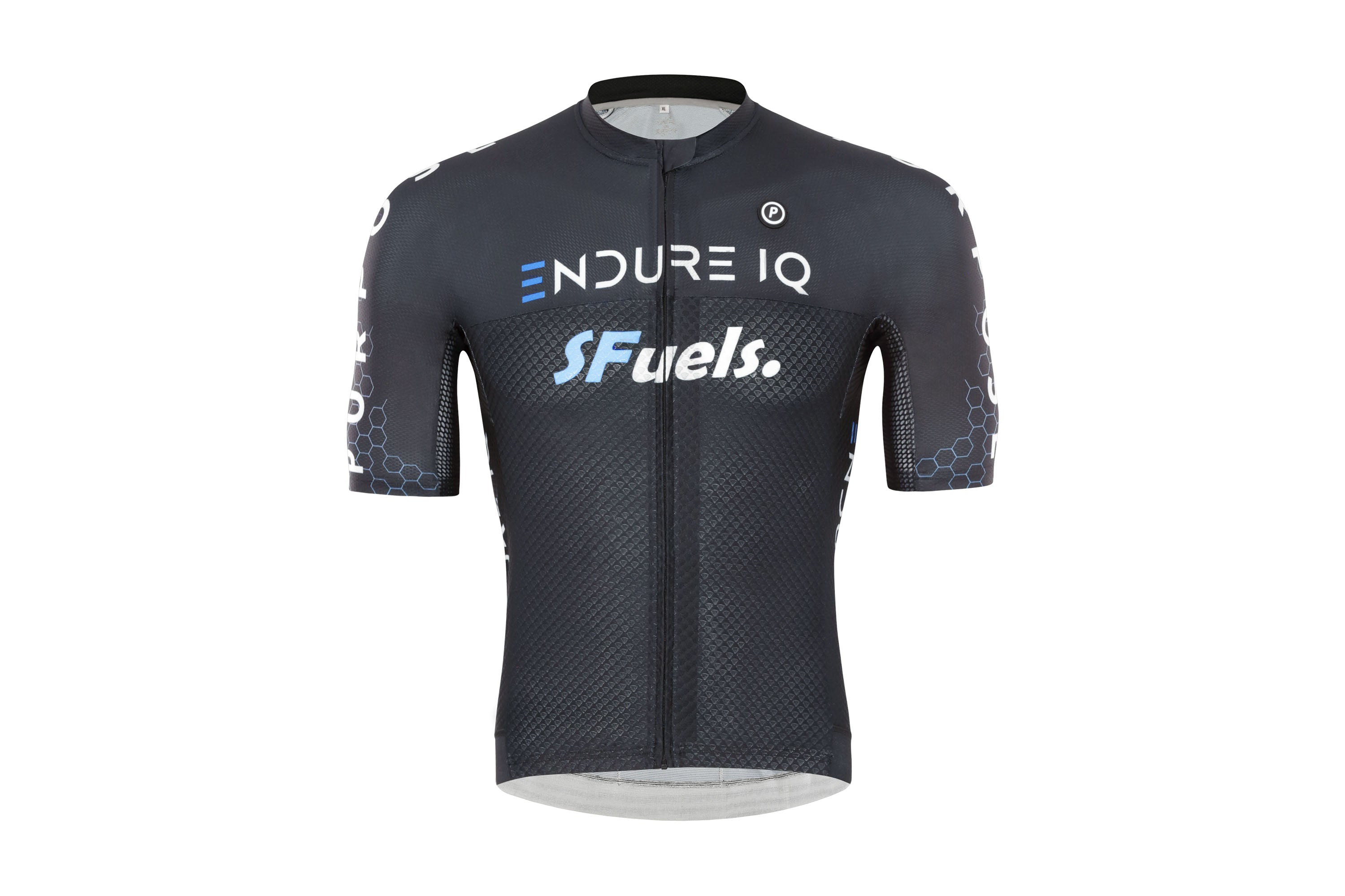 Purpose Victory ELITE Racing Cycling Jersey (EndureIQ Edition Black)