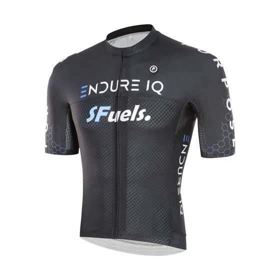 ELITE Racing Cycling Jersey (EndureIQ Edition Black)