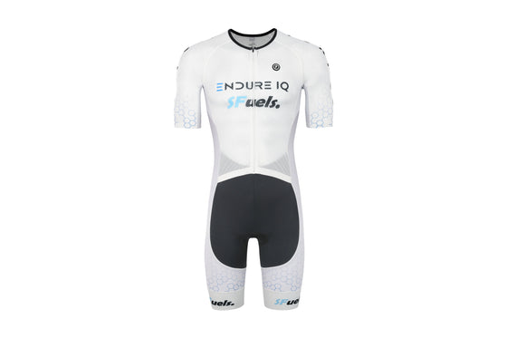 PRO Performance Tri Suit (SFuels Endure IQ Purpose Ambassador Team Edition White)