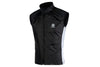 Cycling Gilet (Black Reflective)