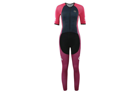 ELITE Racing Long Tri Suit for Muslimah (Glow)