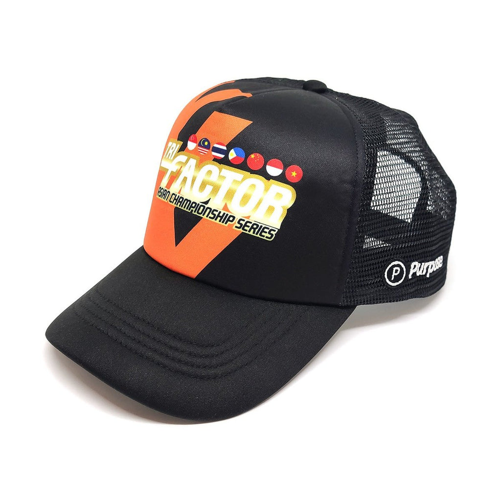 Running Trucker Cap Tri Factor Edition
