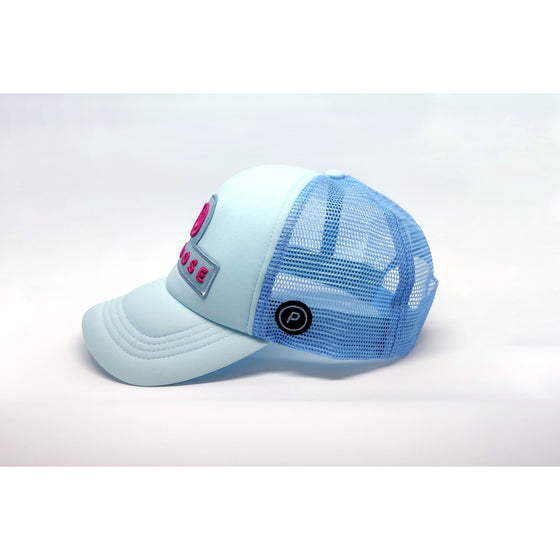 Running Trucker Cap Spartan Blue