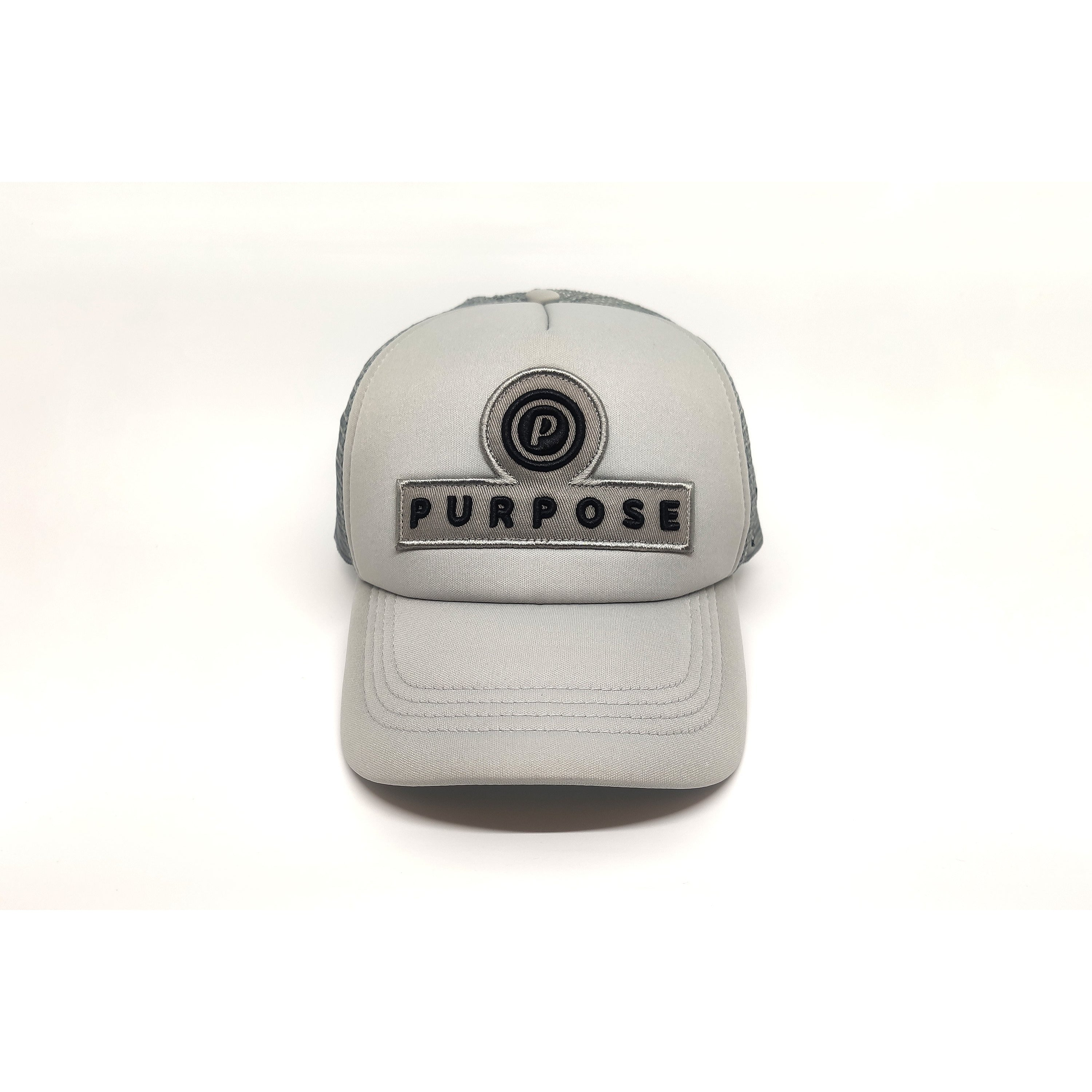 Purpose Running Trucker Cap Spartan Grey