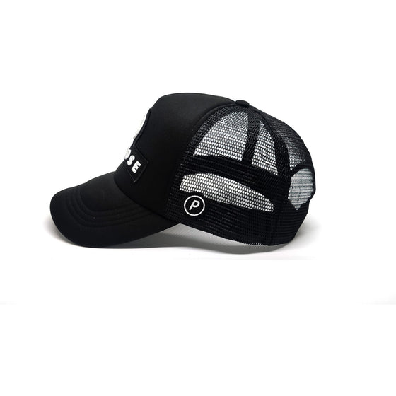 Running Trucker Cap Spartan Black