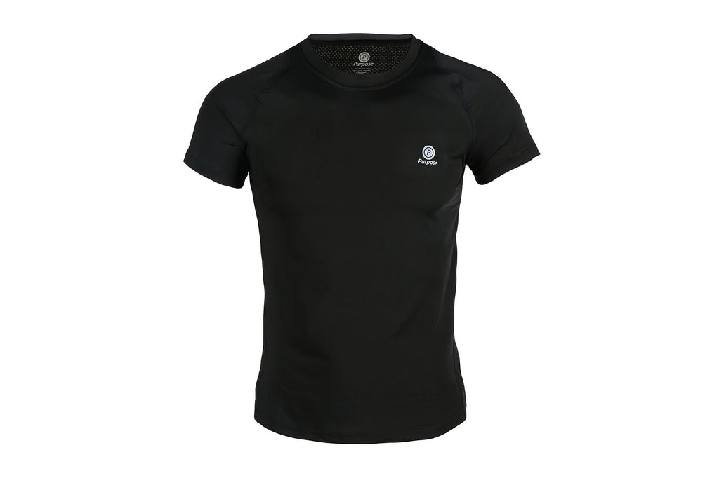 Active Short Sleeve T-Shirt (Carbon Black)