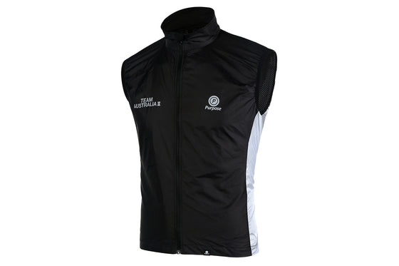 Team Australia II Cycling Gilet (Limited Run Black)