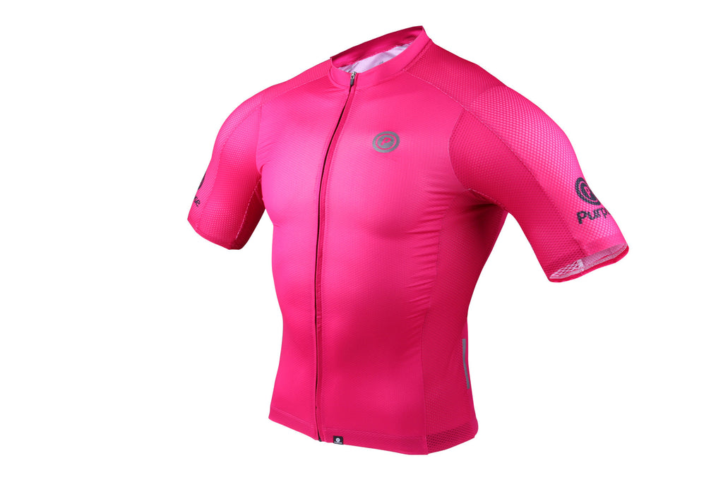 Purpose Team Cycling Jersey (Magenta)