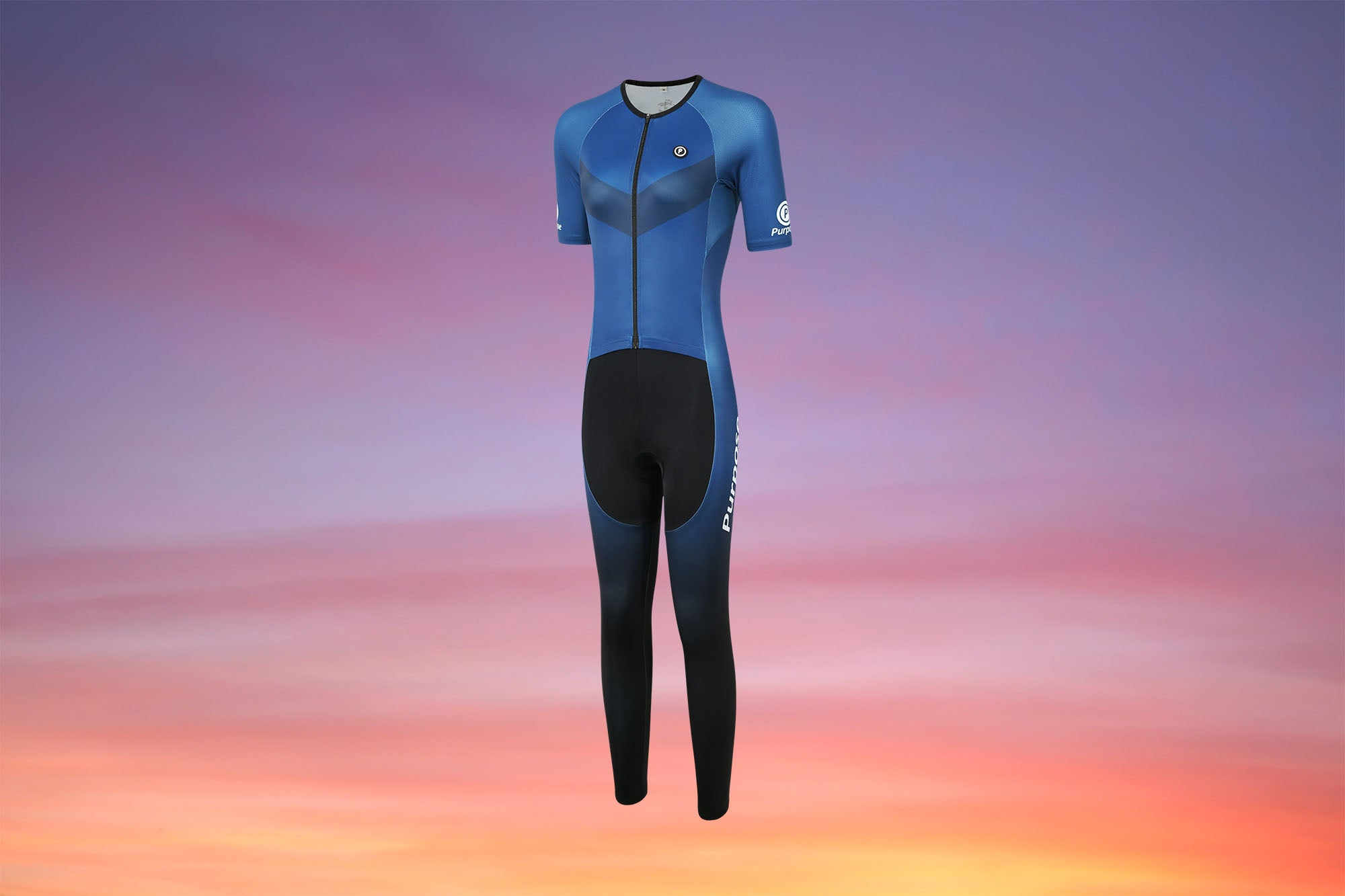 Purpose Victory Series Elite Racing Full Length Tri Suit (TRANSCEND)