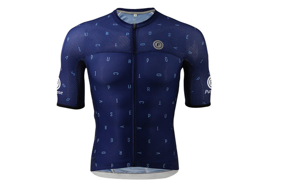 ELITE Racing Tri-Mesh Cycling Jersey (Atomic Blue)