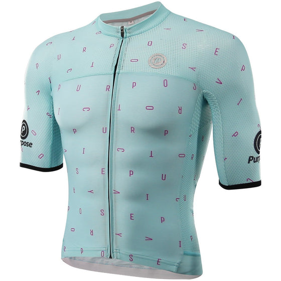 ELITE Racing Tri-Mesh Cycling Jersey (Italian Sky)