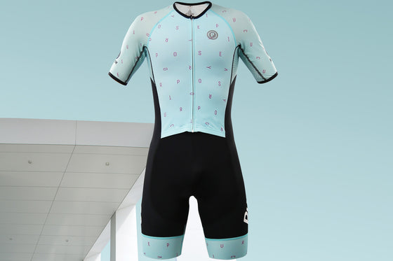 ELITE Racing Tri Suit (Italian Sky)