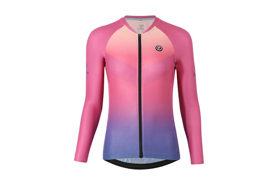 ELITE Racing Long Sleeve Cycling Jersey (MIRAGE)