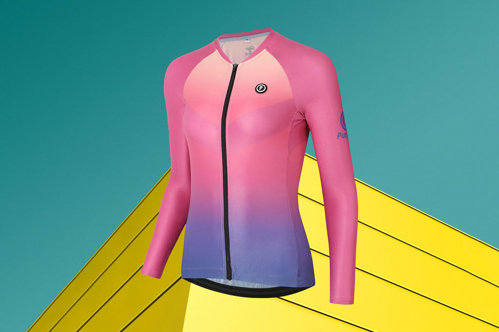Purpose Long Sleeve Cycling Jersey (MIRAGE)