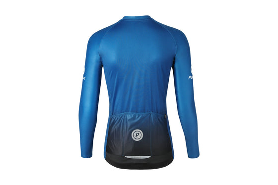 ELITE Racing Long Sleeve Cycling Jersey (TRANSCEND)