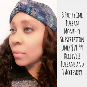 Turban/ Turban Headband Subscription