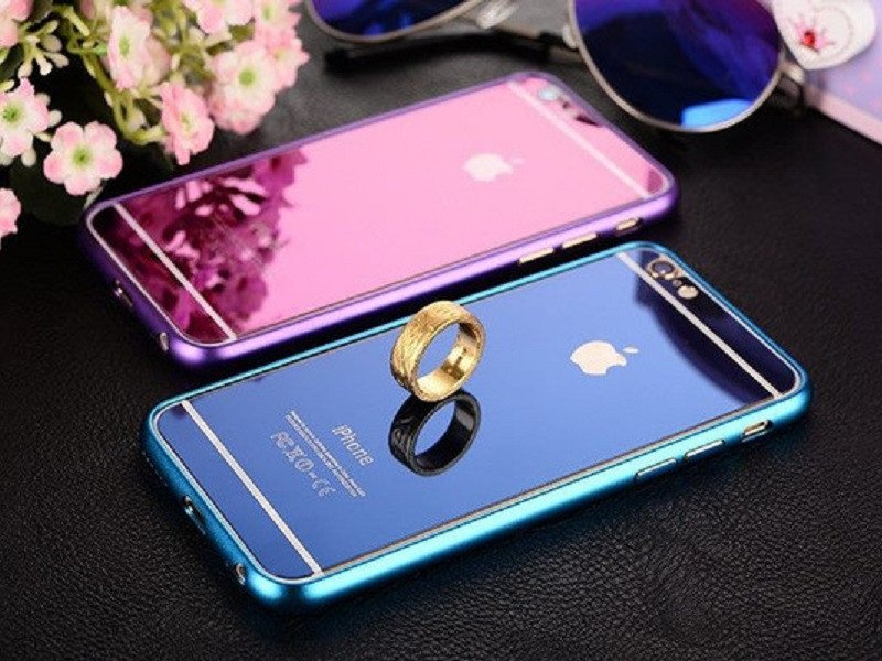 Minali® Full Color Metal & Glass Cover for iPhone - WorldWideCases