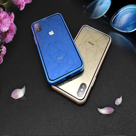 Minali® Luxury Diamond Case for iPhone X