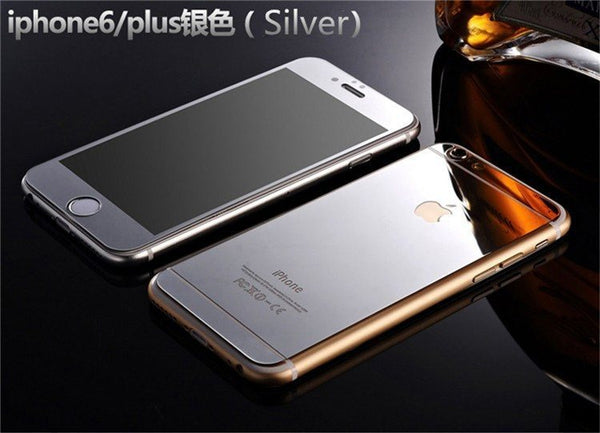 Minali® Full Color Metal & Glass Cover for iPhone 7