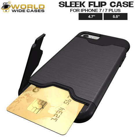 WWC® Sleek Flip Case for iPhone