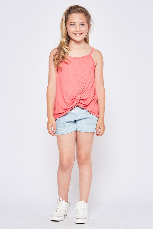 Girls/Junior Twist Tank