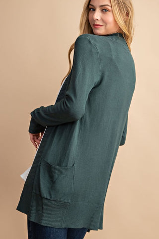 Solid Fall Cardigan (2 Colors)