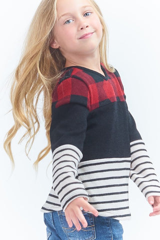 Checkered Kid's Top