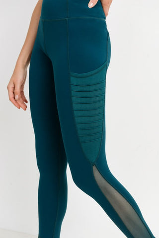 Moto Splice Leggings