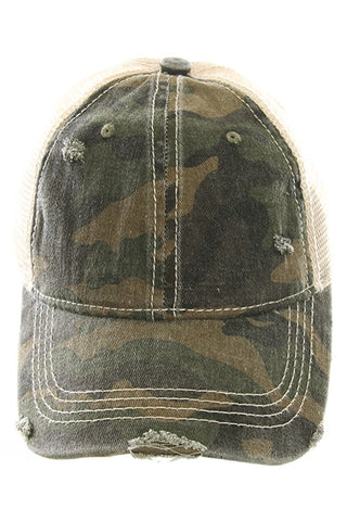 CC  Camouflage Cap (2 colors)