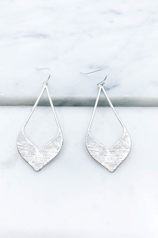 Etched Kite Earrings