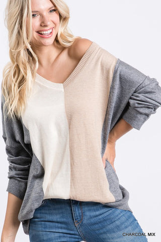 Charcoal Mix Sweater