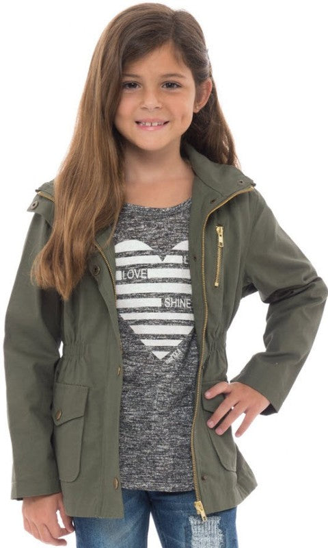 Junior Army Jacket