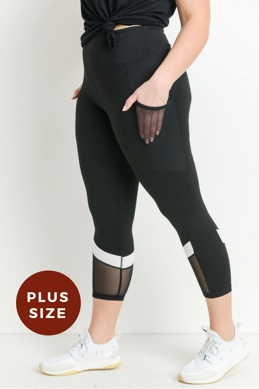 Wing Tip Leggings Curvy